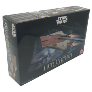 Bandai Star Wars A-Wing Starfighter Plastic Model Kit 01210 Scale 1:72