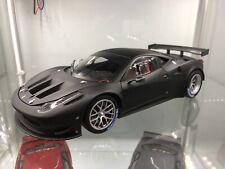 Hot Wheels Elite Ferrari 458 Italia GT2 Black
