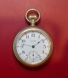 "WALTHAM ""P.S. Bartlett"" 17J Gents 18s Pocket Watch model 1883 **EXCELLENT**"