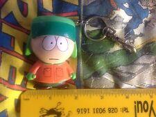 Retro ORIGINALE 1998 South Park Portachiavi/Catena carattere Kyle Broflovski