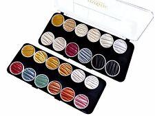 Künstler Perlglanzfarben, 24 Perlglanz-Farben Sortiment, Wasser vermalbar, Mica