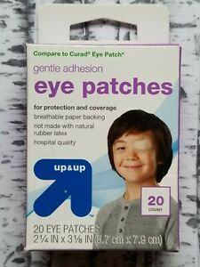 Eye Patches Gentle Adhesion 20 Eye Patches  Up & Up