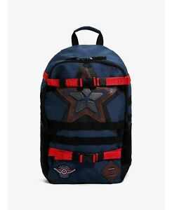 new Falcon and the Winter Soldier Captain America star backpack bag Bioworld