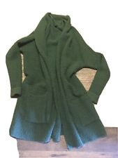 American Eagle Outfitters Green Oversized Shawl Collar Cardigan Medium