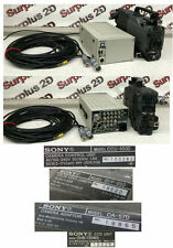 Sony CCU-550D Camera Control Unit w/BVP-950 Studio Camera