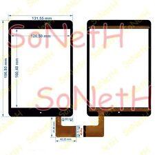 "Vetro Touch screen Digitizer 7,85"" AUDIOLA TAB-0578 3G Tablet PC Nero"