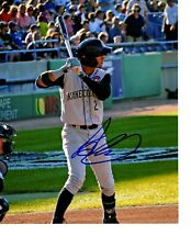 Albert Almora Chicago Cubs top prospect hand signed auto 8x10 photo Kane County^