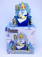 Adventure Time Ice King And Gunter Figurine Collectable Loot Crate Model