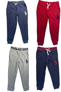 Boys Ex Ralph Lauren Big Pony Joggers Casual Sports trousers 2 3 4 5 6 7 8 10 14