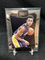 2015/16 PANINI SELECT D'ANGELO RUSSELL RC ROOKIE CARD #62 LOS ANGELES LAKERS W41