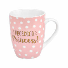 PROSECCO PRINCESS MUG CERAMIC COFFEE TEA CUP FIZZ CHAMPAGNE NOVELTY WINE GIFT