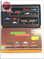 Z 1:220 Märklin mini-club escala vagones freight cars models Set 86221 autos <