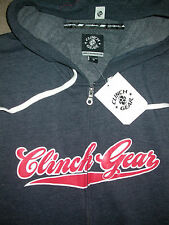 CLINCH GEAR ZIP UP HOODED SWEATSHIRT MEDIUM M . UFC KSW MMA BJJ BOXING GYM NEW