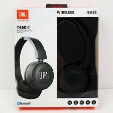 JBL by Harmon T450BT Wireless Bluetooth Audio On-Ear Headphones Black NIB