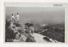 Rokko San Hill From Tengu Iwa Rock Japan Vintage Postcard 492a