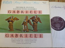 AMS 16119 Andrea & Giovanni Gabrieli / Fennell / Eastman Wind Ensemble P/S