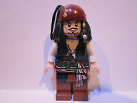 Lego Pirates of the Caribbean JACK SPARROW minifigure lot 4192 100% REAL LEGO