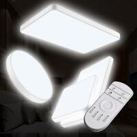 DE LED Deckenleuchte Deckenlampe Wohnzimmer Badleuchte Dimmbar Küchenlampe Licht