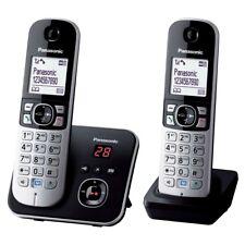 Panasonic KX-TG6822EB TWIN SET di telefonia cordless DECT con segreteria telefonica