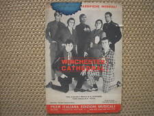 WINCHESTER CATHEDRAL THE NEW VAUDEVILLE BAND SPARTITO SHEET MUSIC ITALY 1967