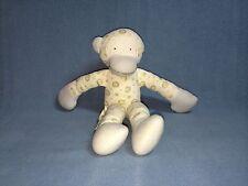 Under the Nile Organic Egyptian Cotton Monkey Stuffed Animal Lovey EUC