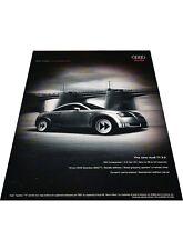 2003 2004 Audi TT 3.2 -  Original Vintage Advertisement Print Car Ad J428