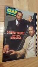Rivista CIAK Numero 6 Giugno 1987 Robert De Niro – Mickey Rourke + locandine
