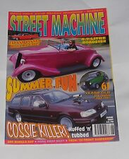 STREET MACHINE JUNE 1997 - FAT AND FINNED BLOWN RAT CADDY/4.7 LITRE ROADSTER