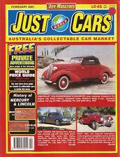 Just Cars Feb 01 3.0 CSL Batmobile Mercedes Benz at 100 History Mercury Lincoln