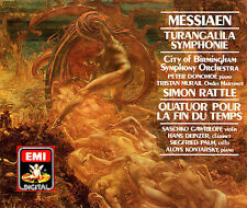 Olivier Messiaen: Turangalila;  Quatuor Pour La Fin du Temps, , , Very Good