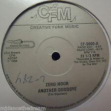 "ZERO HOUR ~ Another Goodbye ~ 12"" Single USA PRESSING"
