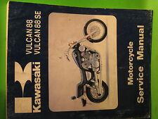 KAWASAKI VN1500-A1 B1 VULCAN 1987 SERVICE MANUAL OEM 99924-1078-01 GOOD USED