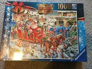 The Christmas Farm 1000 Piece Premium Puzzle by Ravensburger, New & Sealed Box
