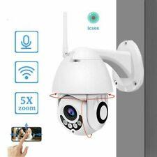 1080P WIFI IP Camera Wireless Outdoor CCTV HD PTZ Smart Home Security IR New