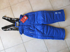 salopette ski  fille Northland bleue neuve avec étiquettes taille 5 ans