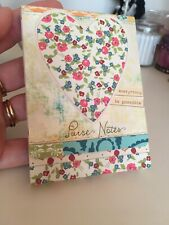 Ellie Claire Purse Note Book Mini Pink Heart Pretty Ditsy Floral Travel Size