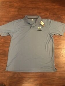 Mens XL UNC Tar Heels Polo Shirt NWT