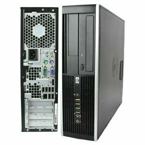 HP Compaq 8000 Elite SFF Desktop PC Intel Core 2 Duo 3.0GHz E8400 4GB RAM 320GB