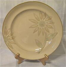 "2 Cuisinart Sunflower 12"" Serving Plate Platter HandPainted Stoneware Dinnerwear"