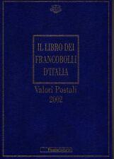 Libro dei francobolli della poste italiane 2002