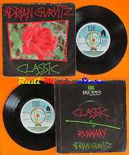 LP 45 7'' ADRIAN GURVITZ Classic Runaway 1982 RAK 339 cd mc dvd