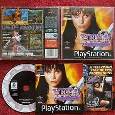 Xena Warrior Princess Original Black Label PLAYSTATION PS1 PS2 PAL