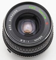 Tokina RMC 28mm 28 mm 1:2.8 2.8 - Minolta MD