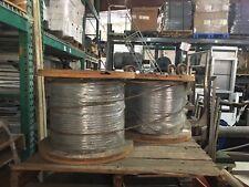 "9/16""x720 feet 6X26WS IWRC, grade EIPS, drawn galvenized steel wire rope"