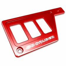 Red Polaris RZR XP 1000 Left Side 3 Switch Dash Panel 50 Caliber Racing USA Made