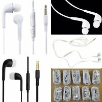 In-ear Stereo Earbuds Earphone w/Mic for Samsung Note3 4 S5 S6 S7 Edge 10X 3.5mm