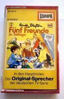Hörspiel  FÜNF FREUNDE - MC FOLGE - 3 - Fünf Freunde Im Zeltlager