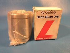 "NB Systems SW-20GUU 1 1/4"" inch Seals Ball Bushings Linear Motion, Slide Bush"
