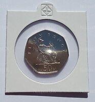 2000 Proof Fifty Pence Britannia  50p Coin Rare