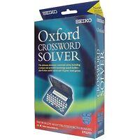 Seiko Electronic Oxford English Crossword, Anagram, Abbreviation Solver + Games